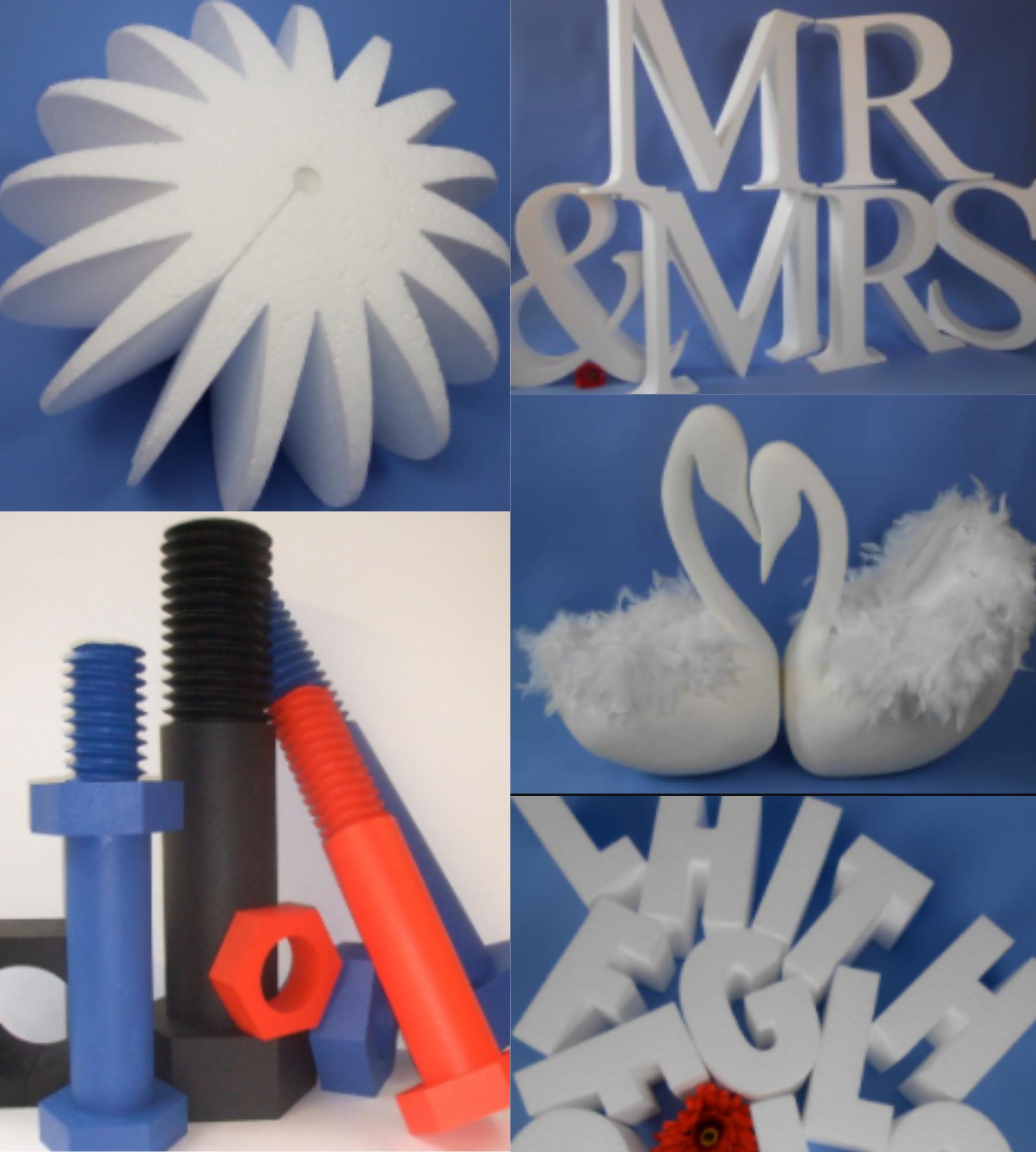 Polystyrene Graphics and Display