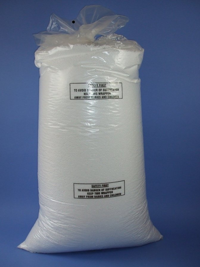 10 cu ft Expanded Polystyrene bead bags